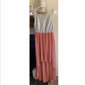 NWOT Alythea high low dress from Forever 21